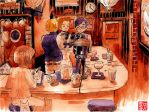 The Bartender's Club by Rin-Uzuki