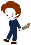 Chibi Michael Myers by ChickTristen94