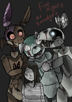 Five Nights at Smudge's by Smudgeful-Thinking