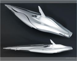 Spaceship ferrari - Wings by Vincent-Montreuil
