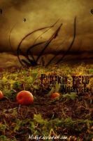 Pumpkin Field by Mickka