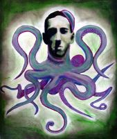HP Lovecraft by atomagedevilman