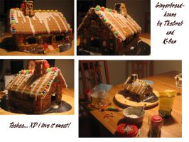 Making of: Gingerbread House by thecrab