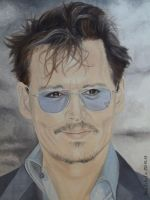 Johnny Depp - London 2013 - 2 by shaman-art