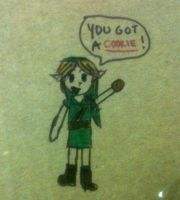 'You got a Cookie, Link.' by Super-Smash-Bros-64