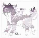 |CLOSE Auction|SB 300pts/$3 Adopt Canine#9 by RenAyumeDeer