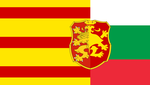 Alternate Flag of Bulgaria-Macedonia Commonwealth by DragonLlabroe