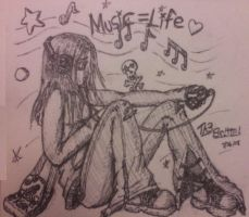 Music is life by Th3Brittni