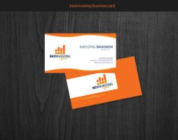 bexinvesting business card by PapciuZiom