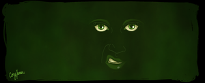 The Green Eyed Monster by Cor104