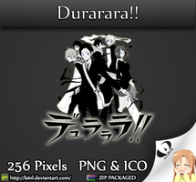 Durarara!! - Anime Folder Icon by lSiNl