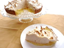 Lemon Meringue Tart by LoveandConfections