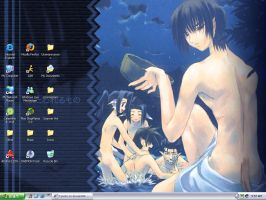 My Desktop -Fanservice- by Tasoku