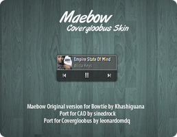 Maebow for Covergloobus by leonardomdq