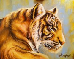 The Tiger by m1eme1m