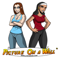 Hava and Danae from POW by levonn78