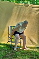 2015-06-10 Beach Chair Poses 43 by skydancer-stock