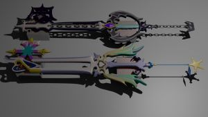 OathKeeper And Oblivion by sora579