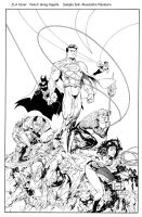 JLA Sample Ink by apalomaro