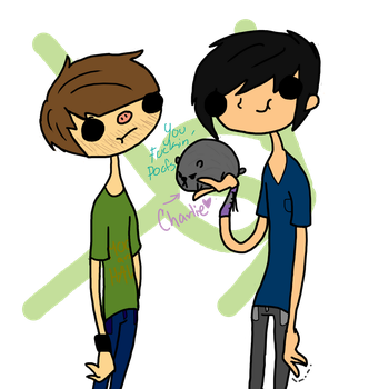 Smosh and Charlie by ObsessedWithTDI