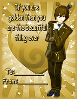 Goldie's Valentine card by White-Hu