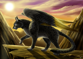 Com: Catwing -Feral- by DragginCat