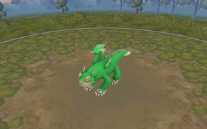 my new night fury in spore by moonofheaven1