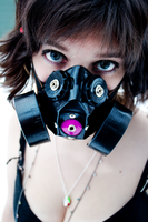 Gasmask by Lil-Crackah-Girl