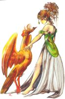Pheonix and the Lady by RollerBoyjeremy