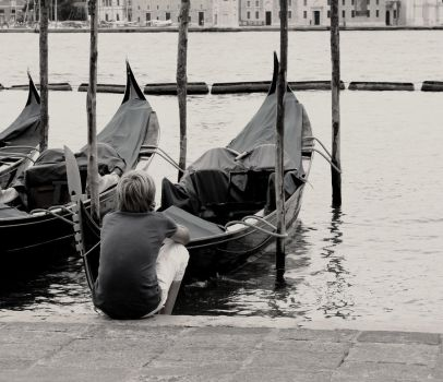 Melancholic Venice by nicas999