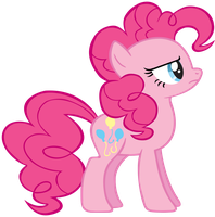 Pinkie Pie Is Unamused - Vector by TheSharp0ne