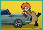 Chelsea on a Shelby by AgentC-24