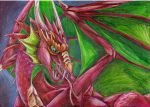 AT Red dragon :3 by BobbyDazzl3r
