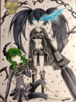 Black rock shooter ft. dead master by NestOfDreams