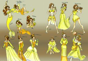 Belle Mix by jadenwithwings