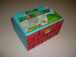 Super Mario World Box by ZombieBunnySlaya