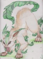 Leafeon by HER13