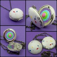 Jawbreaker Locket by beatblack