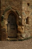 Castle Door by NickiStock