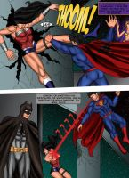 JUSTICE LEAGUE: battle of the watchtower page 3 by ArtbyMiel