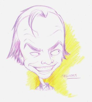 Jack Nicholson by gabrielopes