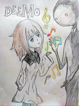 Alice and Deemo [Deemo] by GKaisaer108