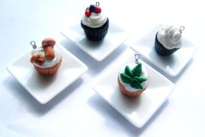 Drugcakes - Drug cupcake Charm by tinytable