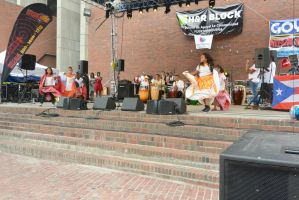 Puerto Rican/Latin Festival, Dancing To Bongos 7 by Miss-Tbones