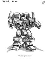 MechWarrior 4 Fafnir by Mecha-Zone