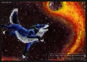 ACEO: Comet Chaser by aboveClouds