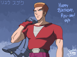 Happy Birthday Ryu-san by CaptainZelda07