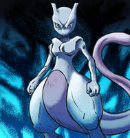 Top Mewtwo #3 by DYW14