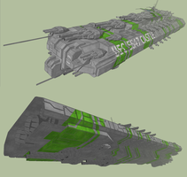 Combat Frigate 2 by MSgtHaas