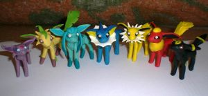 ALL EEVEELUTIONS by klumtimea